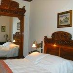 Example of antique furniture in room