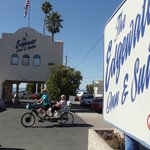 Edwater Inn Pismo Beach Calif + :pismopedicab bike tour