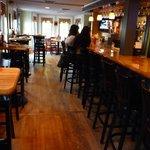 Bar area where we ate