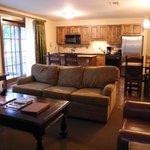 Living/Dining/Kitchen in ground-floor suite