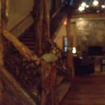 Panoramic view of lounge and lobby
