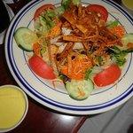 The Chicken taco salad