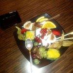 Healthy sweet dessert