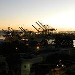 Port of LA, morning