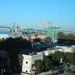 Port of LA, evening