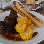 Delicious dinner - Pork ribs