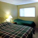 Griz Inn Suite Bedroom with Two Beds