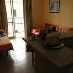 Lounge/bedroom/kitchen - comfy large beds