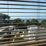 View of Ocean from Room 210 (No Balcony)