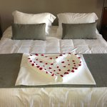 Our honeymoon bed!