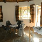 Our living area in selfcatering unit