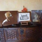 Retratos de Camille Claudel e Rodin