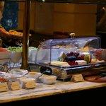 A bountiful breakfast buffet