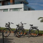 Electric Bikes hired from the hotel