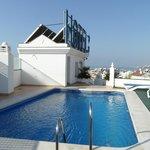 Pool on roof