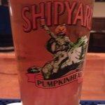 Fall Beer Special Shipyard Pumkinhead with a Sugar/Cinnamon Rim!