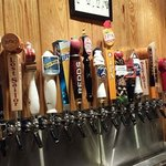 Updated Tap selection on back wall as of 9-13-13