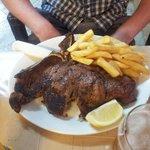 great steak at the aanta barbara