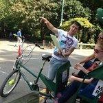 Pedicab stop