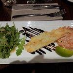 Tatare de saumon