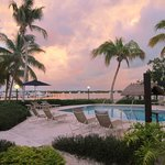 Coconut Palm Inn at Sunset