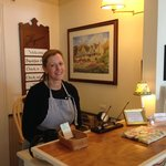 Our friendly innkeeper, Susan.