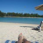 From the lounger Muri Beach Club