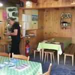 Dining     - Rotstock Hut