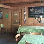 Dining Room Inside   - Rotstock Hut
