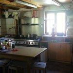Kitchen    - Rotstock Hut