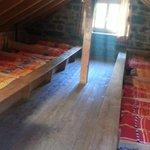 Bunk Room upstairs    - Rotstock Hut