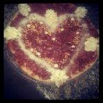 Pizza nutella meringues et chantilly!
