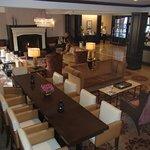 Very spacious lobby
