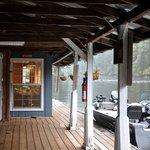 Jamie's Dockside Diner, open for breakfast