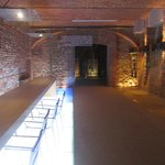Palas Cerequio wine cellar and tasting room