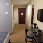 Wheelchair accessible room.