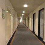 corridor on level