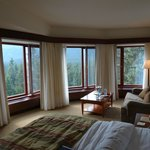Large windows and a fabulous view