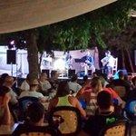 Foto de espectáculo flamenco en IZNAJAR en restaurante VALDEARENAS