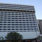 Hilton Salt Lake City Center outside