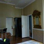 View in our room toward door to hall