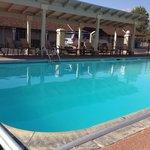 La piscine de bon matin