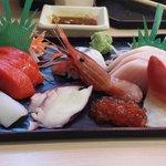 A bit more pricey than average set meal but good sashimi set
