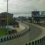 Lakhtokia overbridge from hotel room