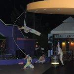 Circus show Cunucu Terrace