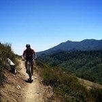 Shredding the trails at Camp Tamarancho, Marin County CA