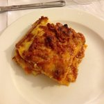 Lasagna our second night