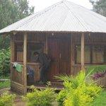 Photo de Nshongi Gorilla Resort