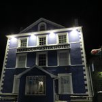 The Harbourmaster at night