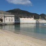 Stabilimento dalla spiaggia Playa